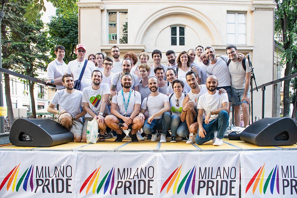 ritratto Gruppo Scuola CIG Arcigay Milano